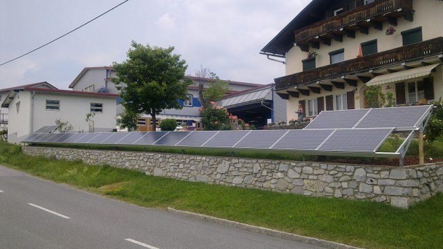 PV-Mauer